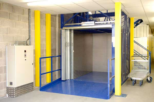 Industrial Lift Installation